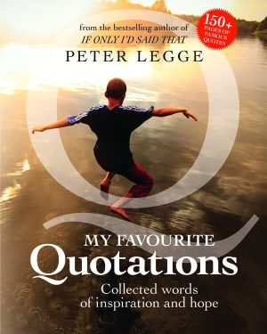 Favourite Quotations-Hardcover Book-Peter-Legge