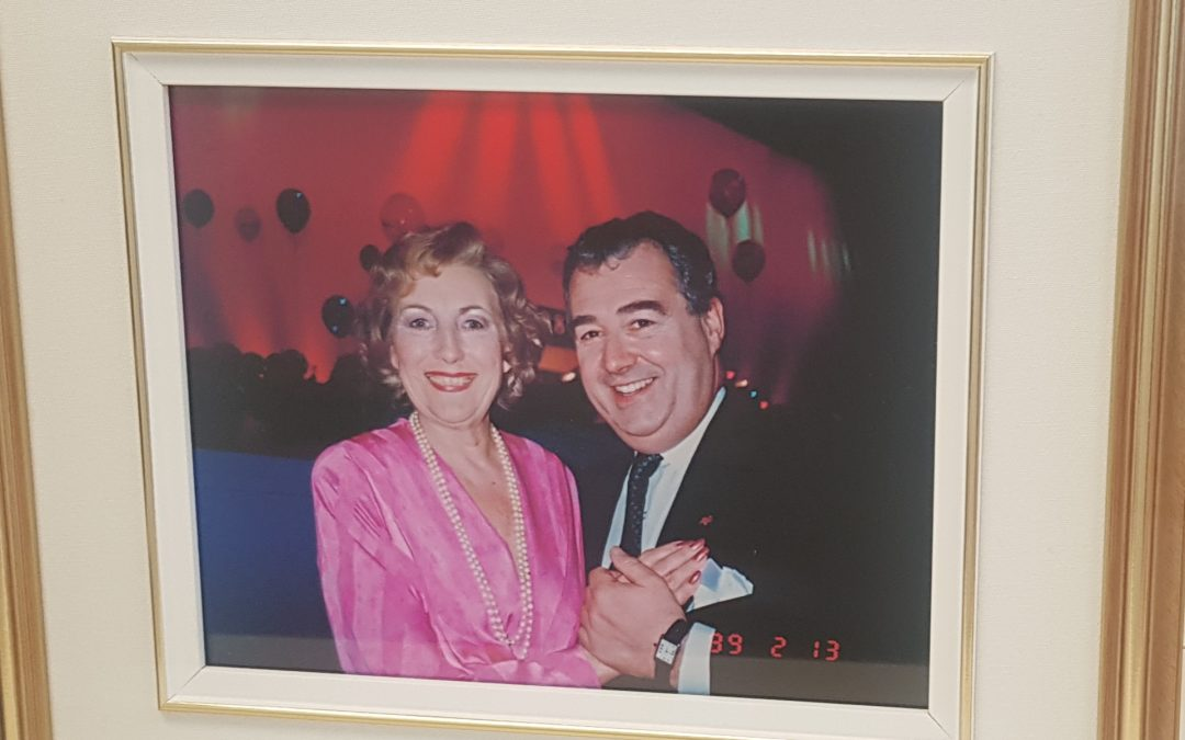 Vera Lynn and Peter Legge, OBC
